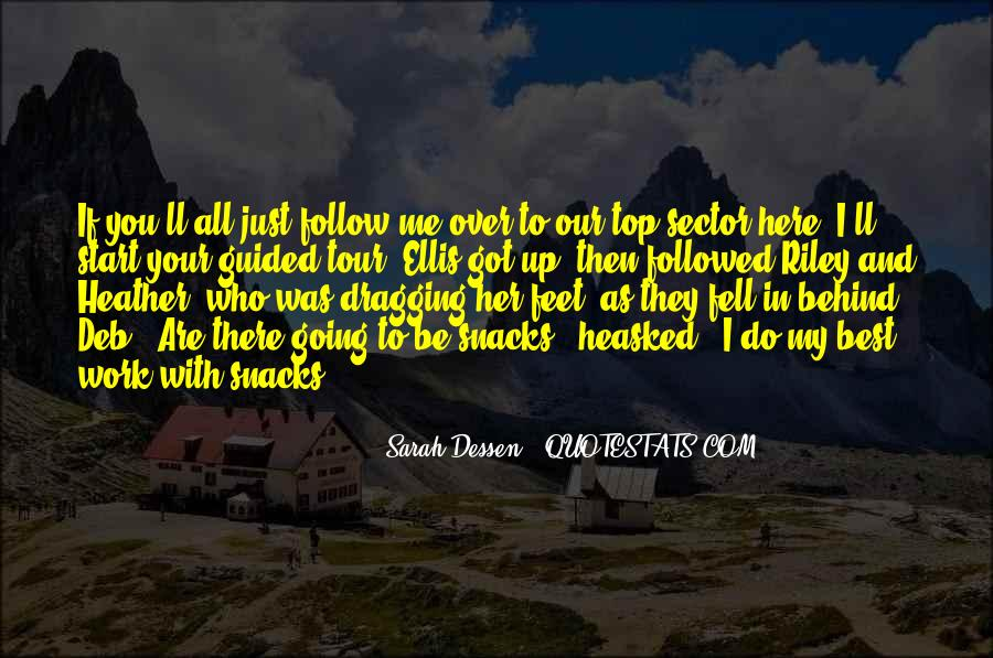 Quotes About Follow Me #28073
