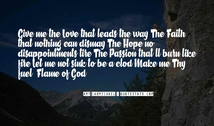 Hope Leads To Disappointment Quotes #1344875