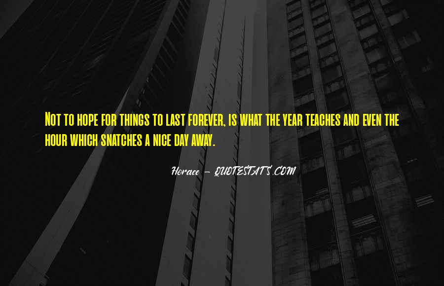 Hope We Last Forever Quotes #1131236
