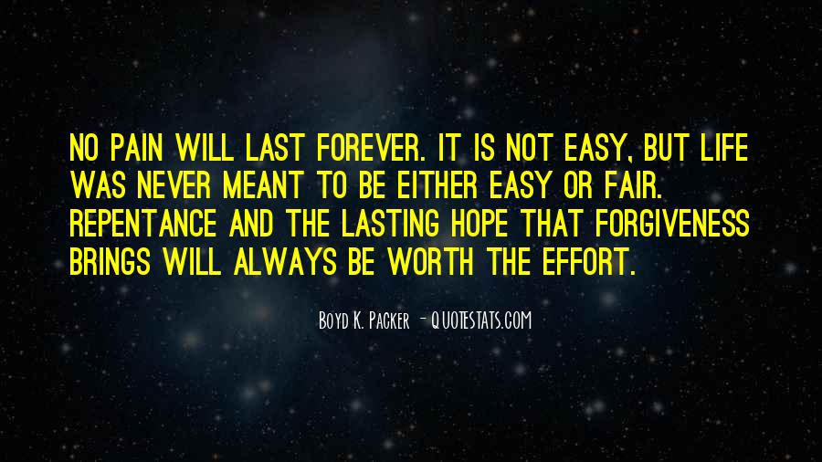 Hope We Last Forever Quotes #1480168