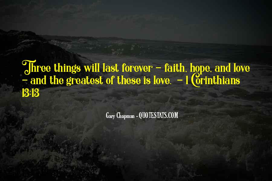 Hope We Last Forever Quotes #522412