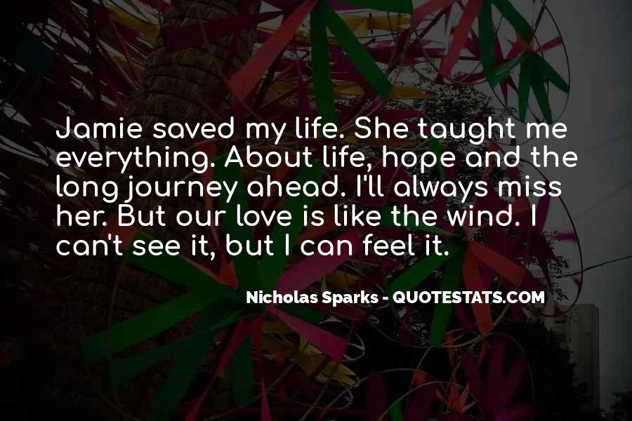Hope You Miss Me Too Quotes #1000764
