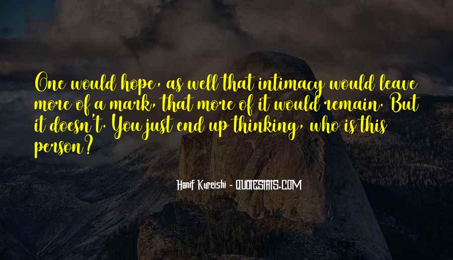 Hope You Well Quotes #577399