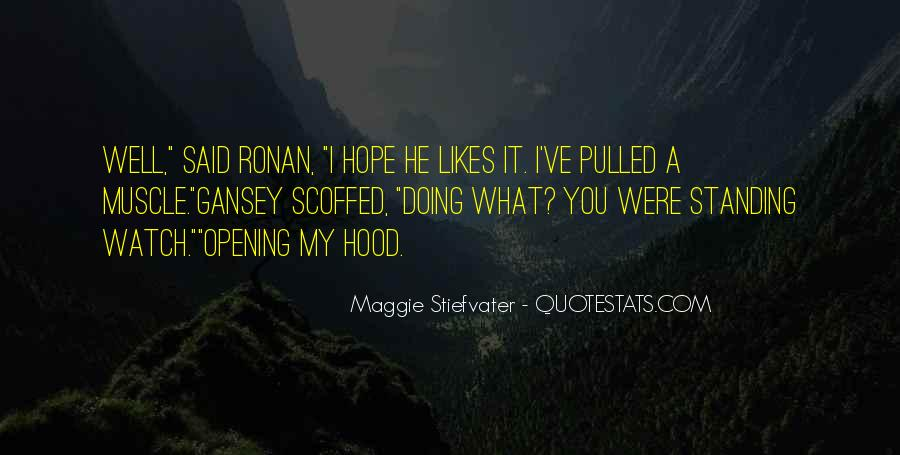 Hope You Well Quotes #945571
