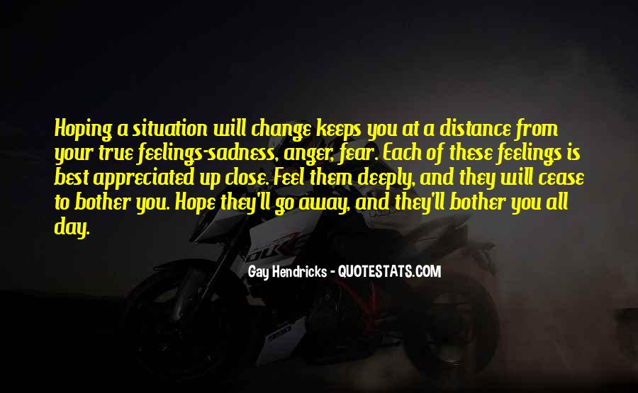 Hope You Will Change Quotes #363844
