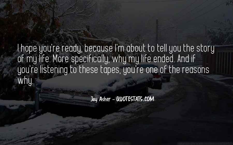 Hope You're The One Quotes #1717911