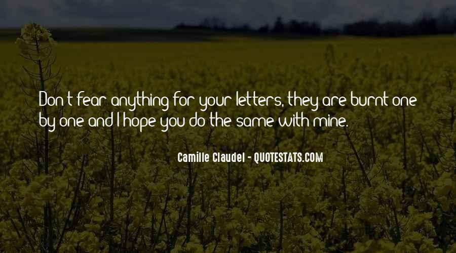 Hope You're The One Quotes #249007