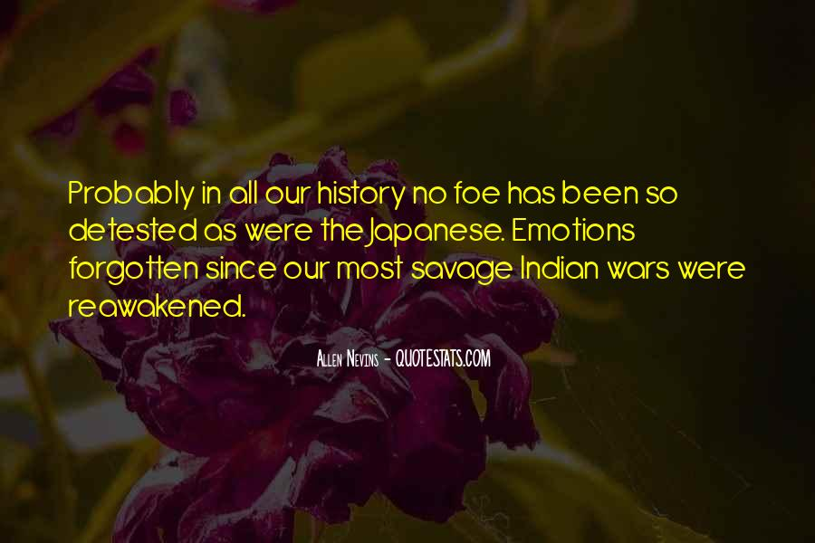 Quotes About Foe #359729