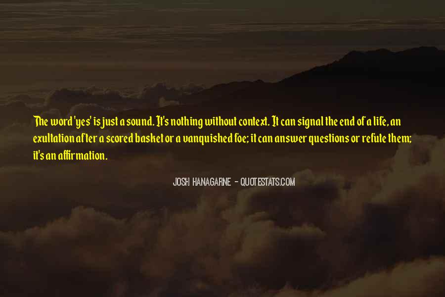 Quotes About Foe #364025