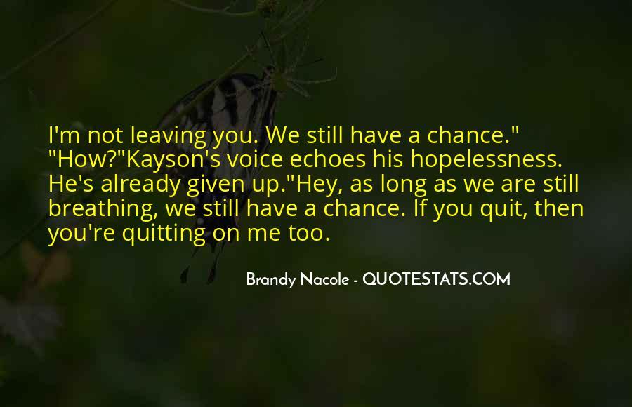 Hopelessness Inspirational Quotes #959043