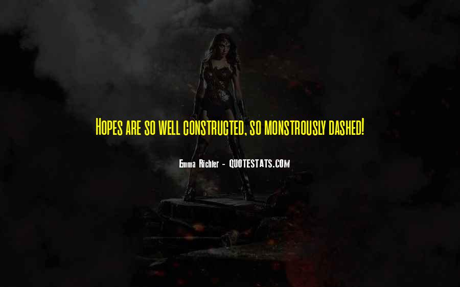 Hopes Dashed Quotes #1415355