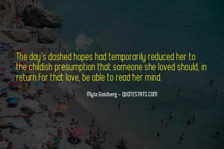 Hopes Dashed Quotes #1617745
