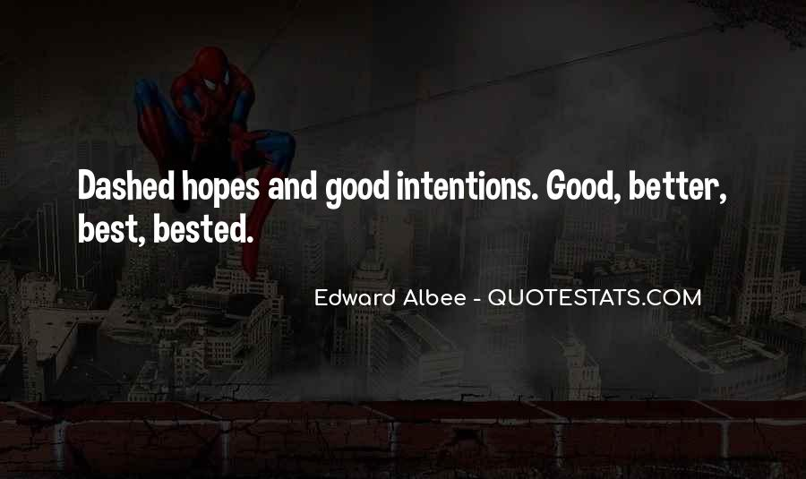 Hopes Dashed Quotes #295358