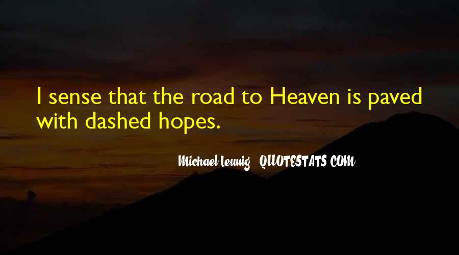 Hopes Dashed Quotes #541895