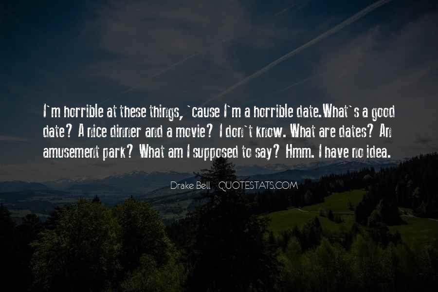 Horrible Movie Quotes #1174116
