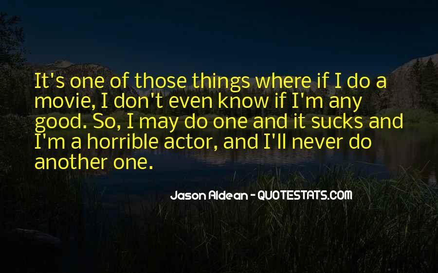 Horrible Movie Quotes #1300511