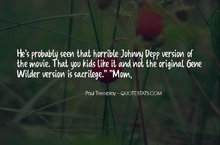 Horrible Movie Quotes #1302788