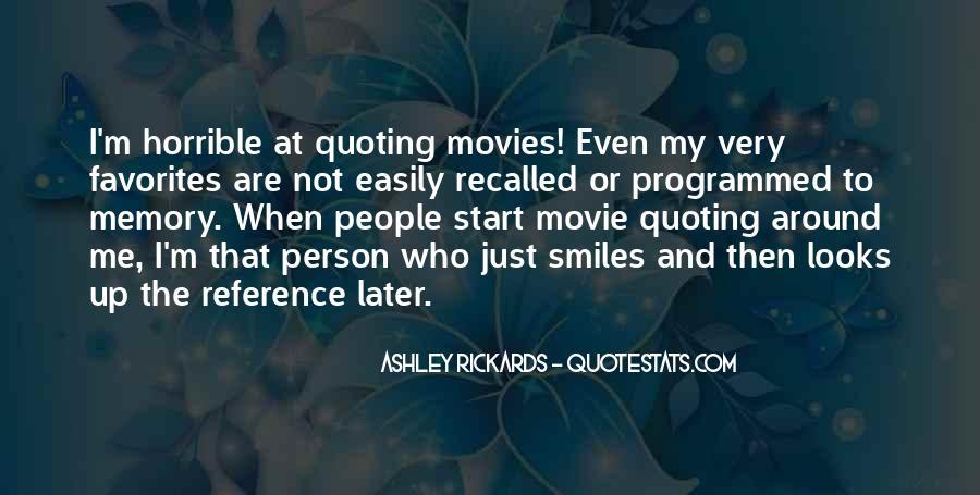 Horrible Movie Quotes #1373092