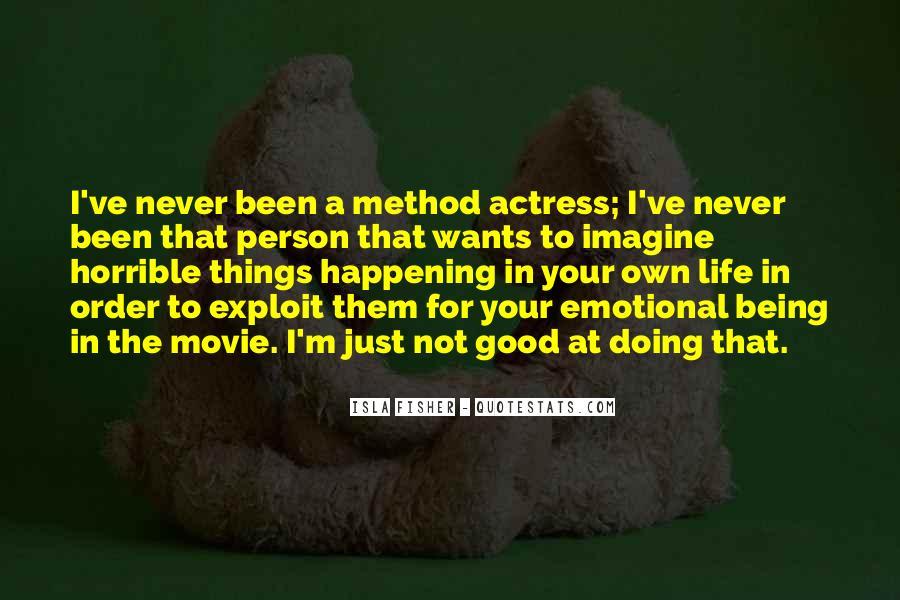 Horrible Movie Quotes #1442855
