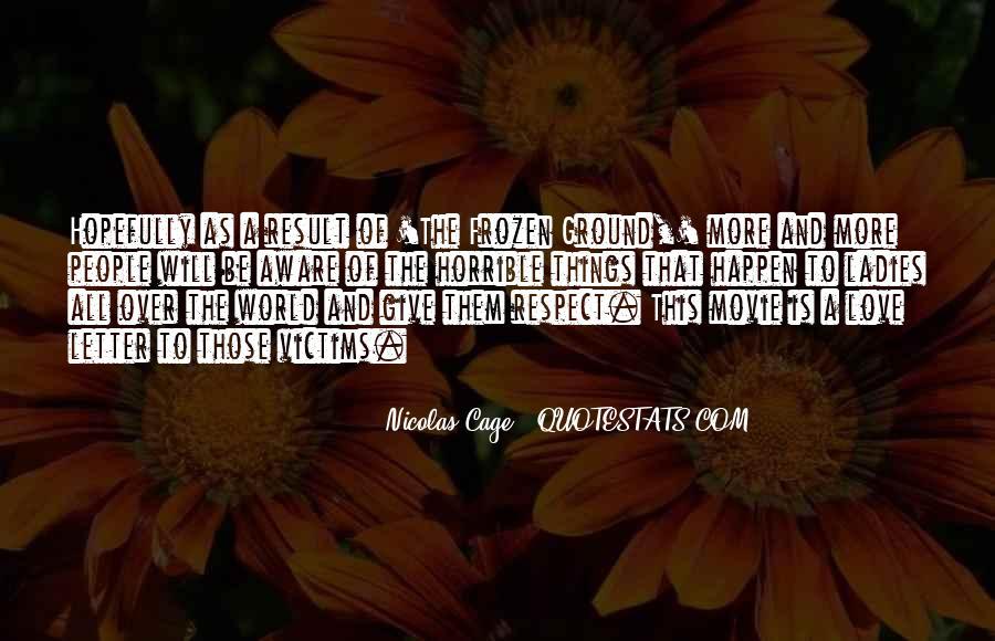 Horrible Movie Quotes #264836