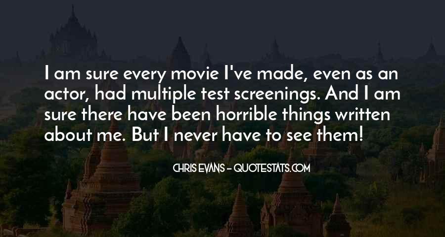 Horrible Movie Quotes #299334