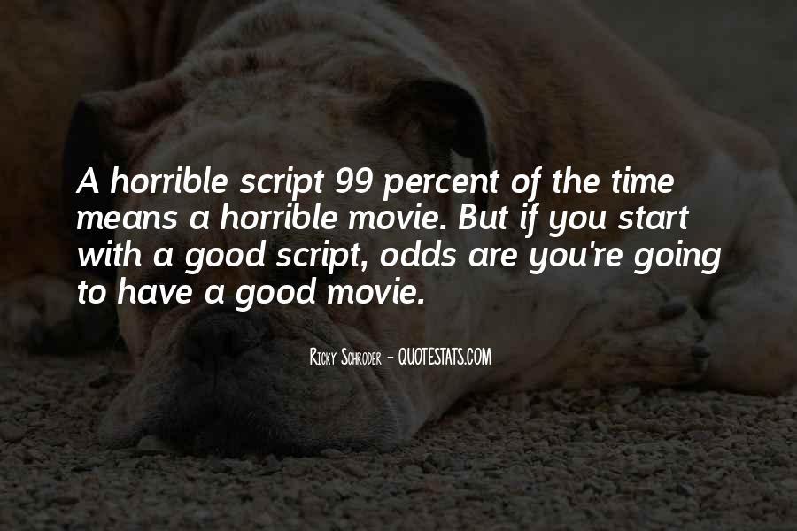 Horrible Movie Quotes #868380