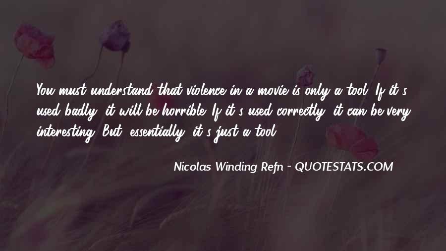 Horrible Movie Quotes #904512