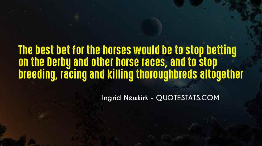 Horse Breeding Quotes #1619815