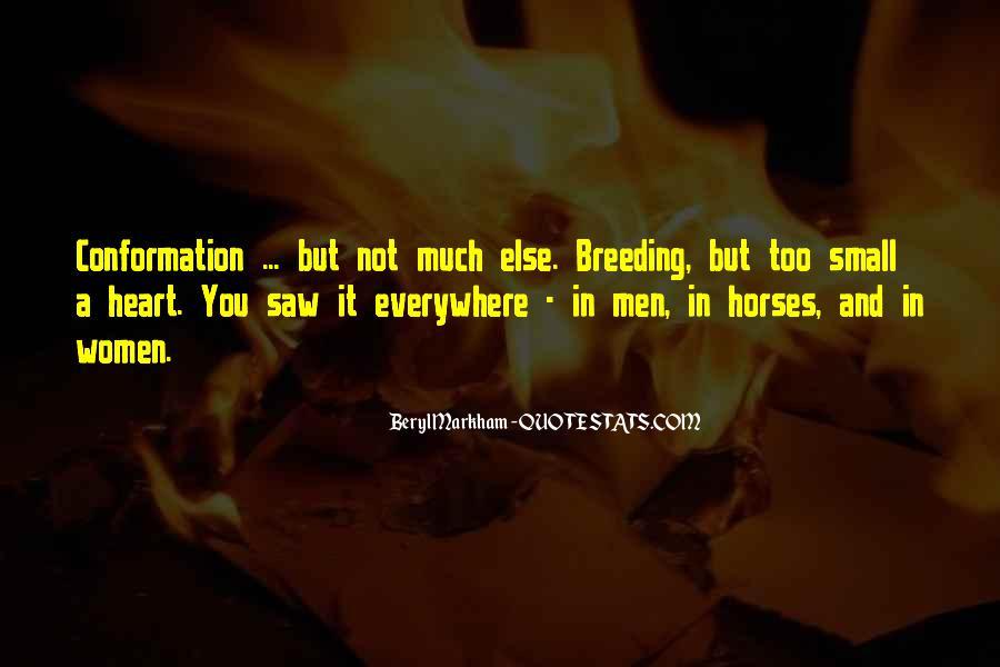 Horse Breeding Quotes #64503