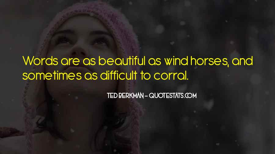 Horse Corral Quotes #1203109