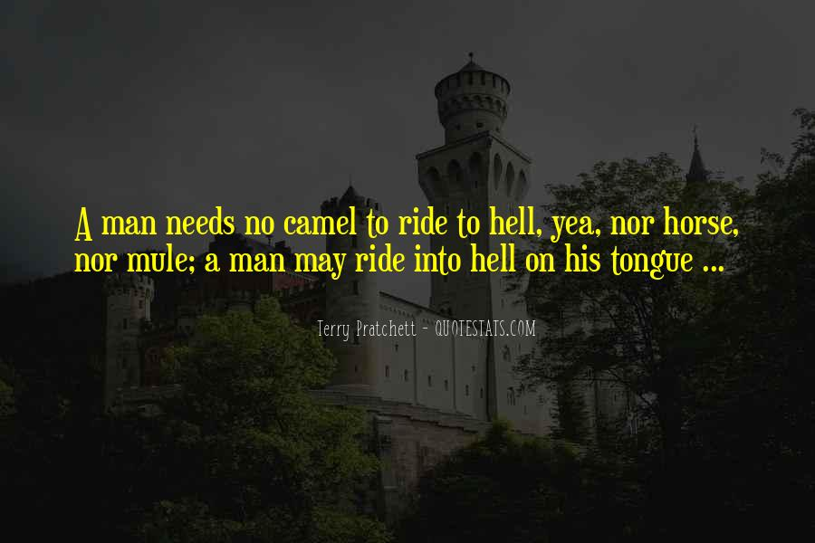 Horse Ride Quotes #1024318