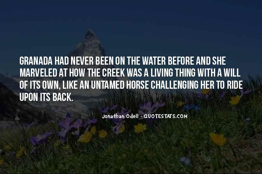 Horse Ride Quotes #1127911