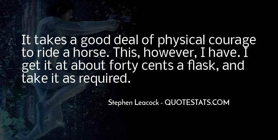 Horse Ride Quotes #144397