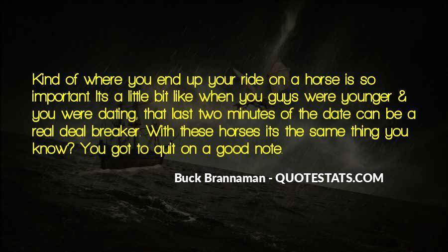 Horse Ride Quotes #240050