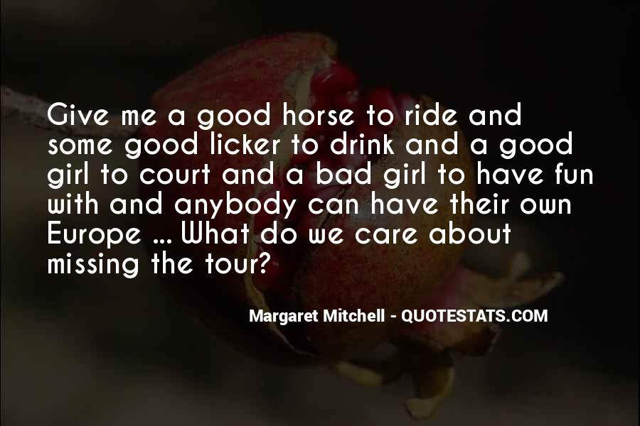 Horse Ride Quotes #304517