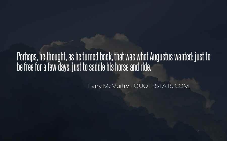Horse Ride Quotes #357757