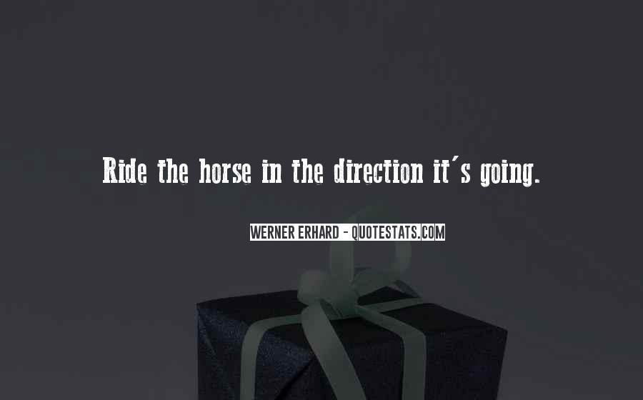 Horse Ride Quotes #376921