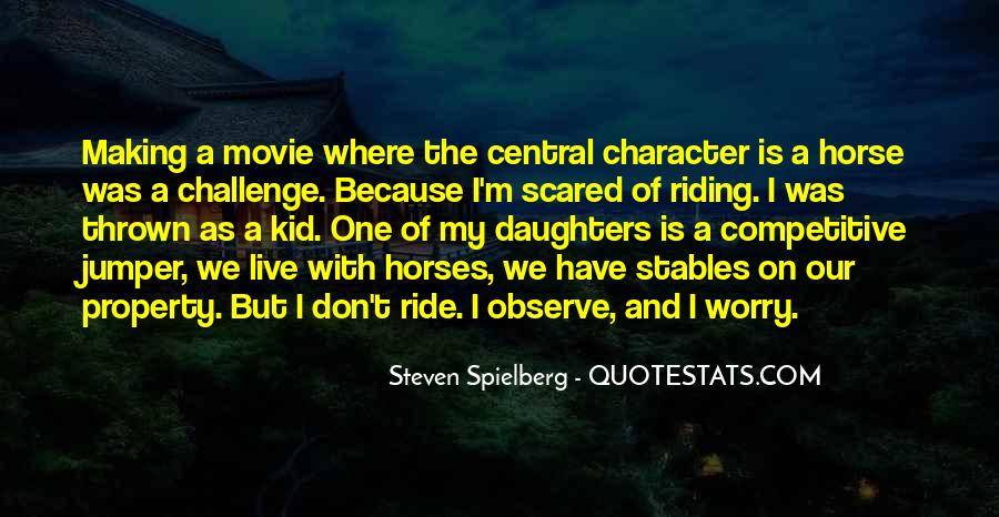 Horse Ride Quotes #418590