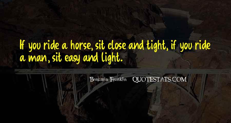 Horse Ride Quotes #496246