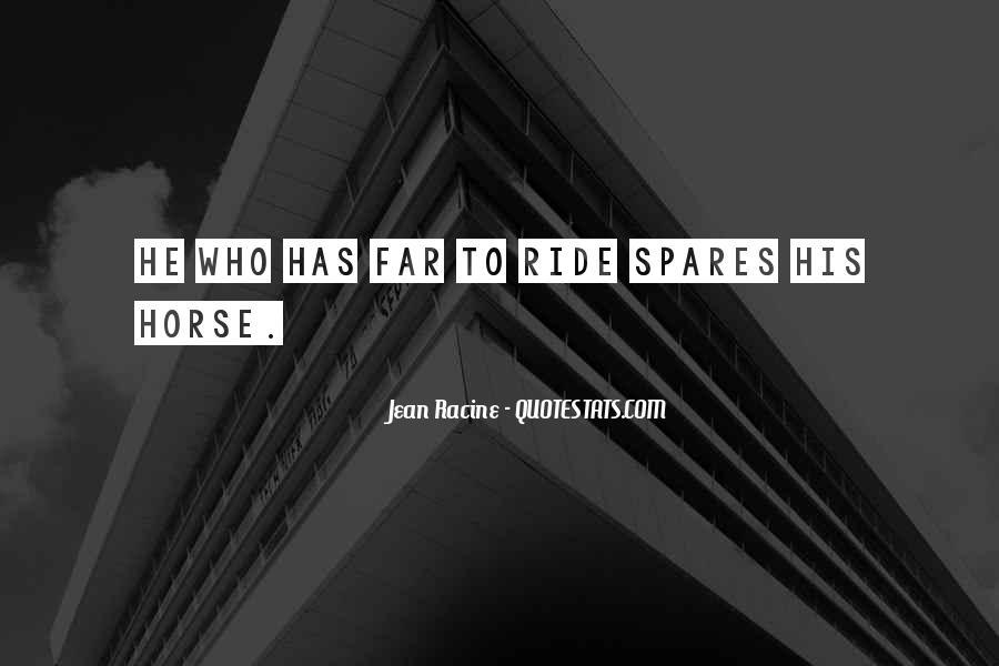 Horse Ride Quotes #569823