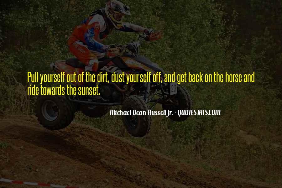 Horse Ride Quotes #670966