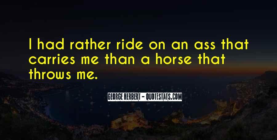 Horse Ride Quotes #692076