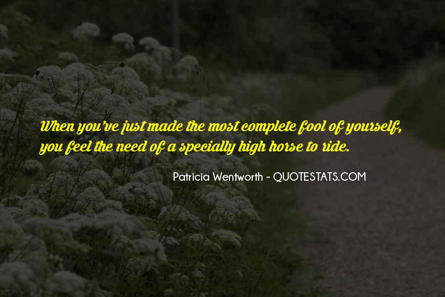 Horse Ride Quotes #84876