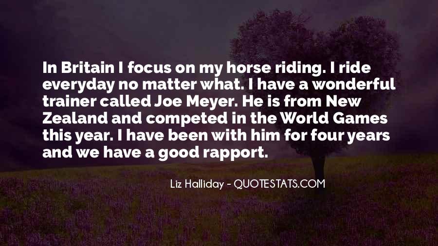 Horse Ride Quotes #861805