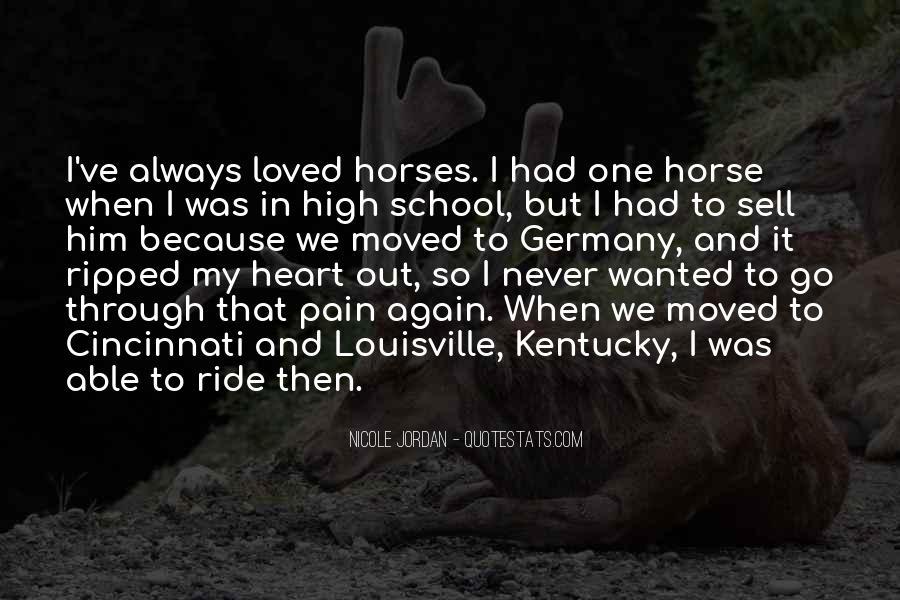 Horse Ride Quotes #960811