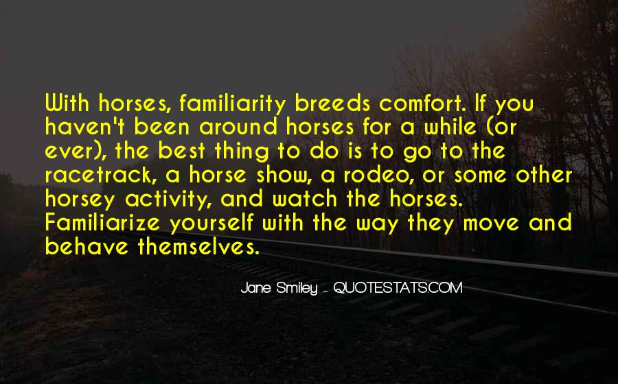 Horse Rodeo Quotes #1707761