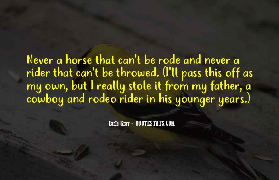Horse Rodeo Quotes #721609