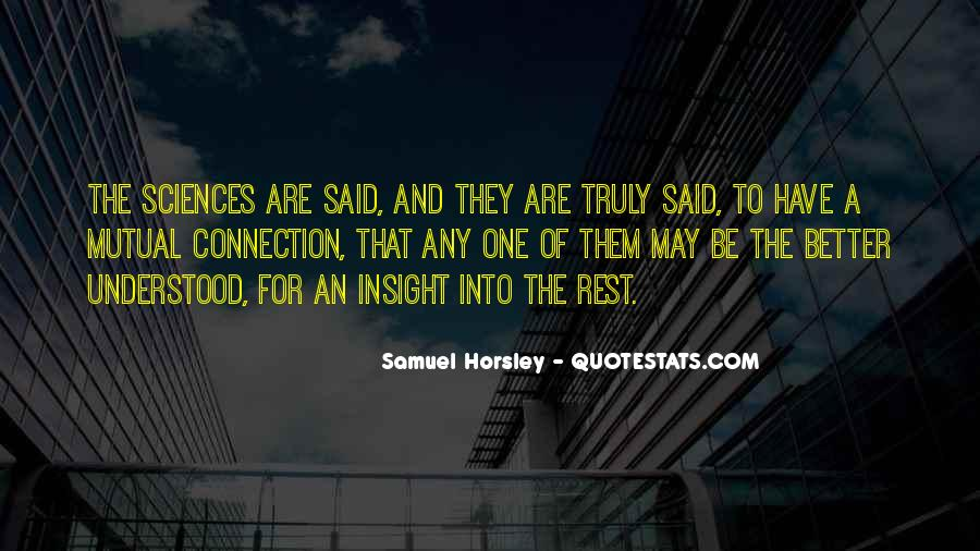 Horsley Quotes #926359