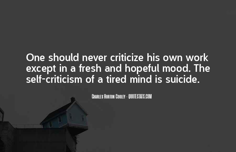 Horton Cooley Quotes #1090150