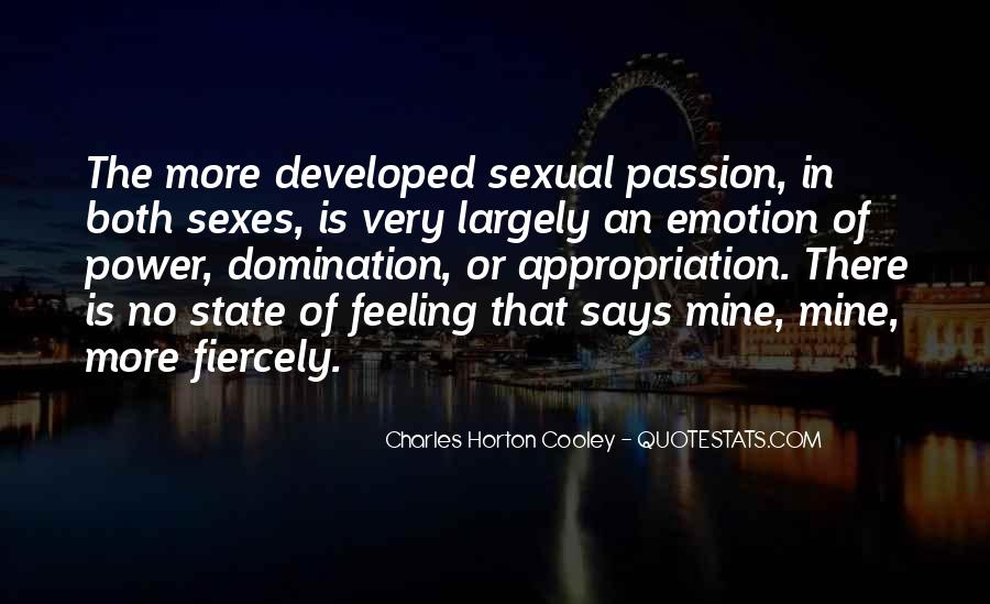 Horton Cooley Quotes #128310
